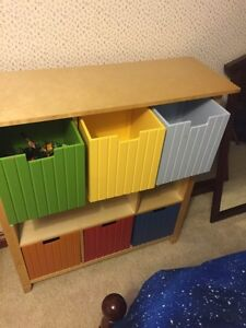 Solid wood storage. Perfect for toy room or child's room.  London Ontario image 2