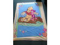 Winnie The Pooh Bed or Carpet Blanket