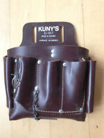 Leather Electrician Tool Belt Pouch