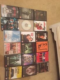 45 dvd's £25
