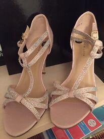 Size 6 New Look Nude Heels