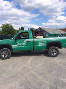 2004 duramax 2500 with plow!