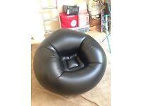 Large inflatible blow up gaming chair (no box)