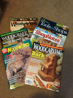 Various Wood working Magazines