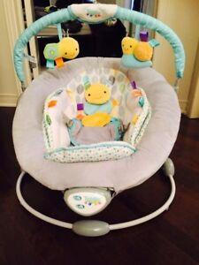 Siège vibreur musical pour bebe