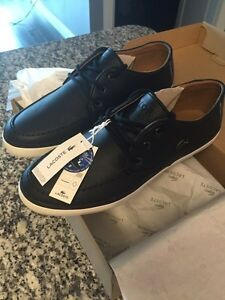 New in box Lacoste shoes