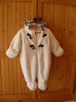 Soft Fur Snowsuit