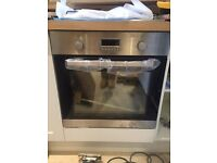 Brand new oven, hob and extractor