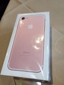 iPhone 7 32gb Rose Gold EE Brand New
