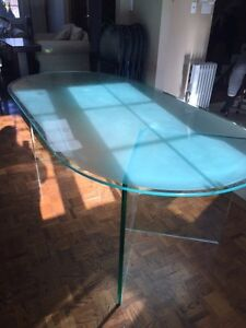 Glass Table with no chair