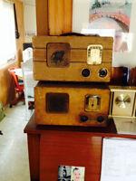 Antique Philco radios
