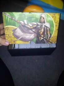 5 fat pack boxes of various common magic cards