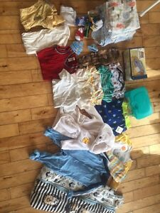 Baby boy clothing lot size 3 - 9 months  and 18 months