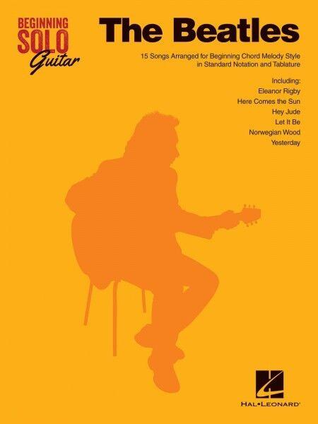 The Beatles Sheet Music Beginning Solo Guitar Book NEW 000110579