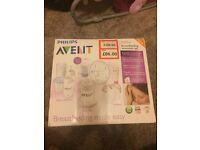 Used advent breast pump