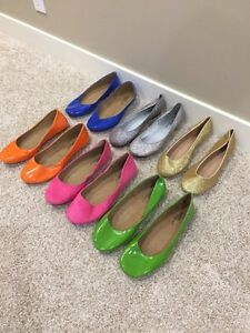 Never Worn, Assorted Slip-on Flats, Size 10