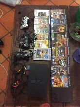 Ps3, 12 games, 2 controllers, 2 memory cards, buzzers and stand Ascot Brisbane North East Preview