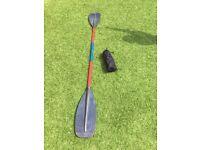 Kayak, canoe Paddle /oar and spray deck
