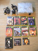 Complete Xbox Console with 12 games