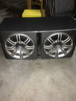 2 12 inch subs and amp