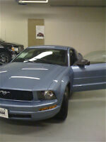 2007 V6 Ford Mustang - babyblue *with modifications*65000km