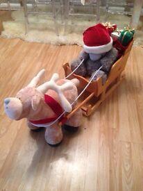 XL me too you santa sleigh