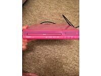 Pink Maxim DVD Player