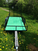 For Sale 4 x8 Utility Trailer