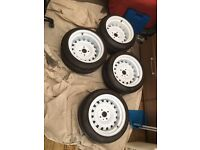 4x100 wheels (banded steels)