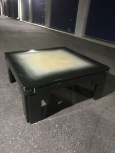 Beautiful Black / Grey Coffee Table