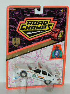 Road Champs 1/43 Chevrolet Caprice RCMP Police Diecast Car