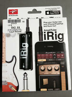AmpliTube iRig Guitar adaptor iPhone 4 5 6 Mac iPad iPod
