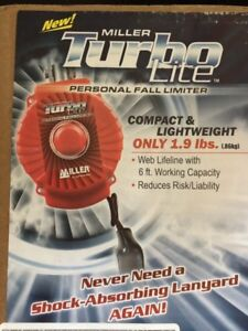 Fall limiter and vest new never used