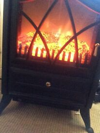 Stove style electric fire 1800w