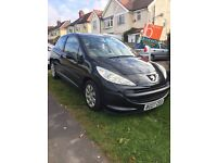 2007 07reg Peugeot 207 1.4 only 2owners from new