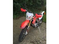 Road legal dirt bike 125 hm moto