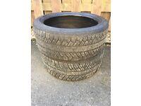 Michelin pilot alpin winter tyres 235/40/19