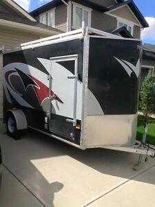 6x12 Full aluminum enclosed trailer