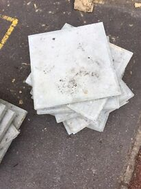 450x450 pressed concrete slabs 40 available!