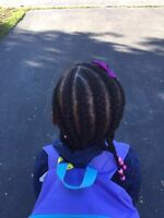Kids and adults hair styles