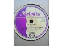 """Africa / UK 78RPM Shellac record - MELODISC : 1215 - Ayinde Bakare - """"Se Botimo"""""""