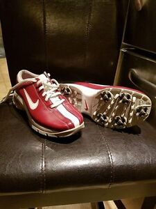 Nike ladies golf shoes - size 5 - worn once