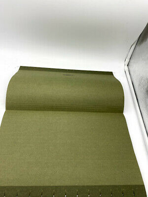 Hanging Office Cabinet File Folders Legal Size Green - Pack Of 25 Open Box
