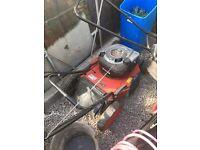 Petrol lawn mower Briggs and Stratton