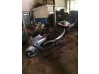 Kymco xciting 500cc 25.000 kilometres may px