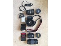 Canon EOS 60D camera (complete kit)