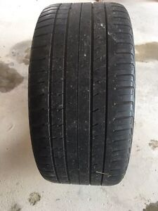 High performance summer tires 295/35/21