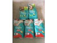Pampers Nappies (sizes 5 and 5+)