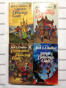 """Dancing Gods Series Books 1-4"" by: Jack L. Chalker"