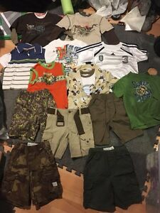 Boys lot of clothes- toddler sizes 3 & 4 T